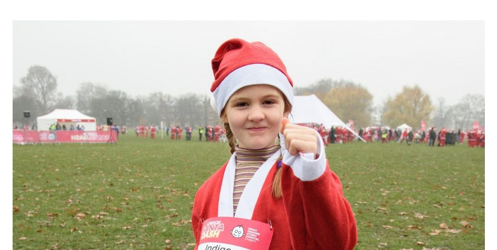 5 Year Old Indigo's Story: From Brain Surgery to London Santa Dash