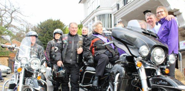 45 Years After Falling Off, Hospice Patient Ticks Off a Bucket List Item by Riding on a Harley Davidson