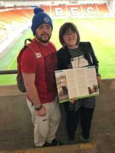 We Share Family – But Only Found Out When Featured On Same Page of Magazine