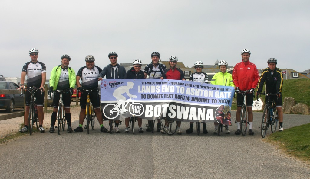 From Land's End to Botswana: A Bristol Charity's Challenge