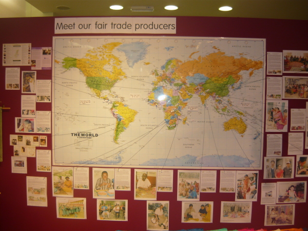 Love That Stuff - The World Comes to Brighton- Promoting Fair Trade At The Marina