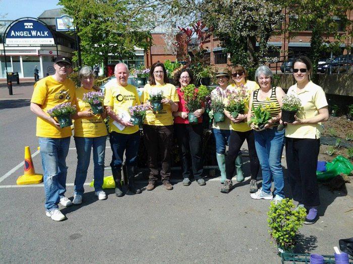 Volunteers at Angel Community Garden Tonbridge