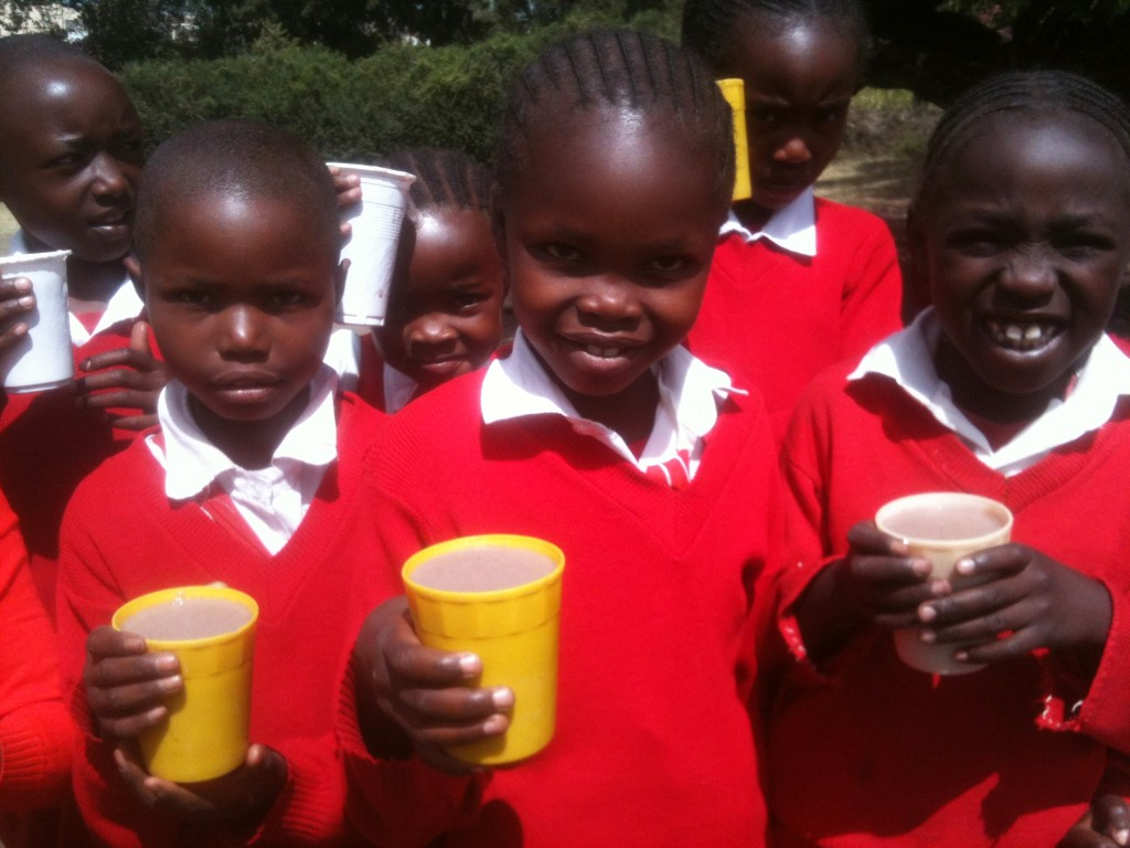 Jalia: 3,600 school meals donated to a primary school in Kenya