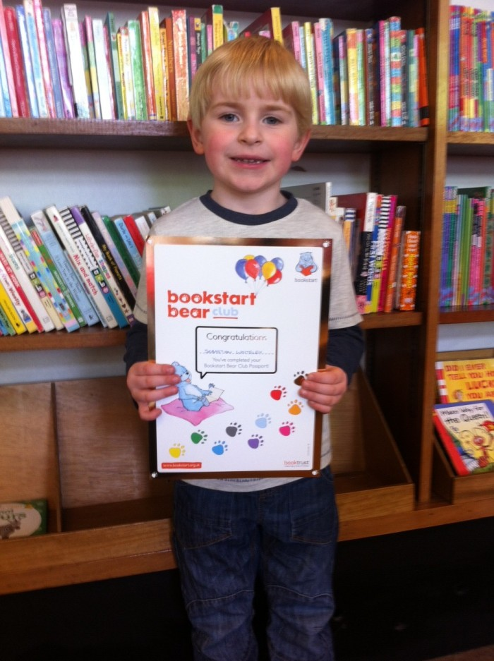 National Bookstart Week: My Hero
