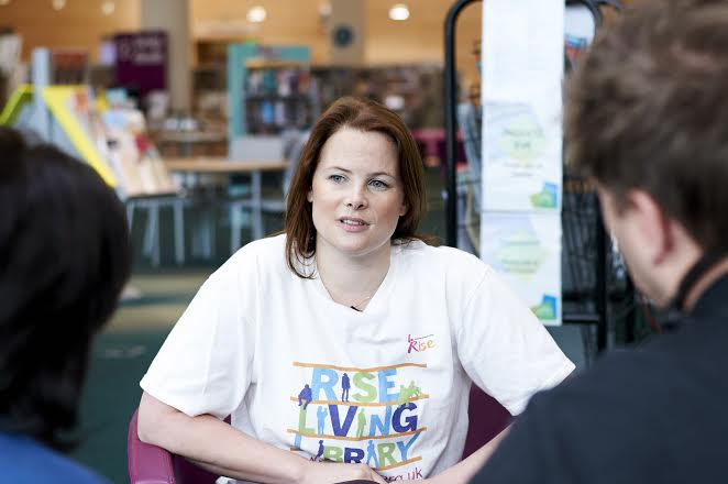 Madelaine Hunter, RISE charity volunteer