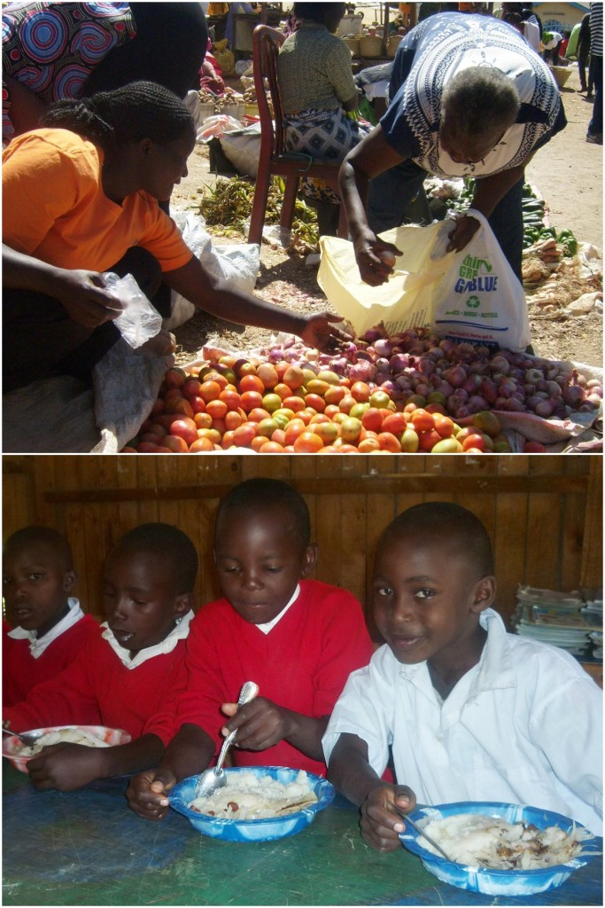 3,600 school meals donated to a primary school in Kenya Jalia charity