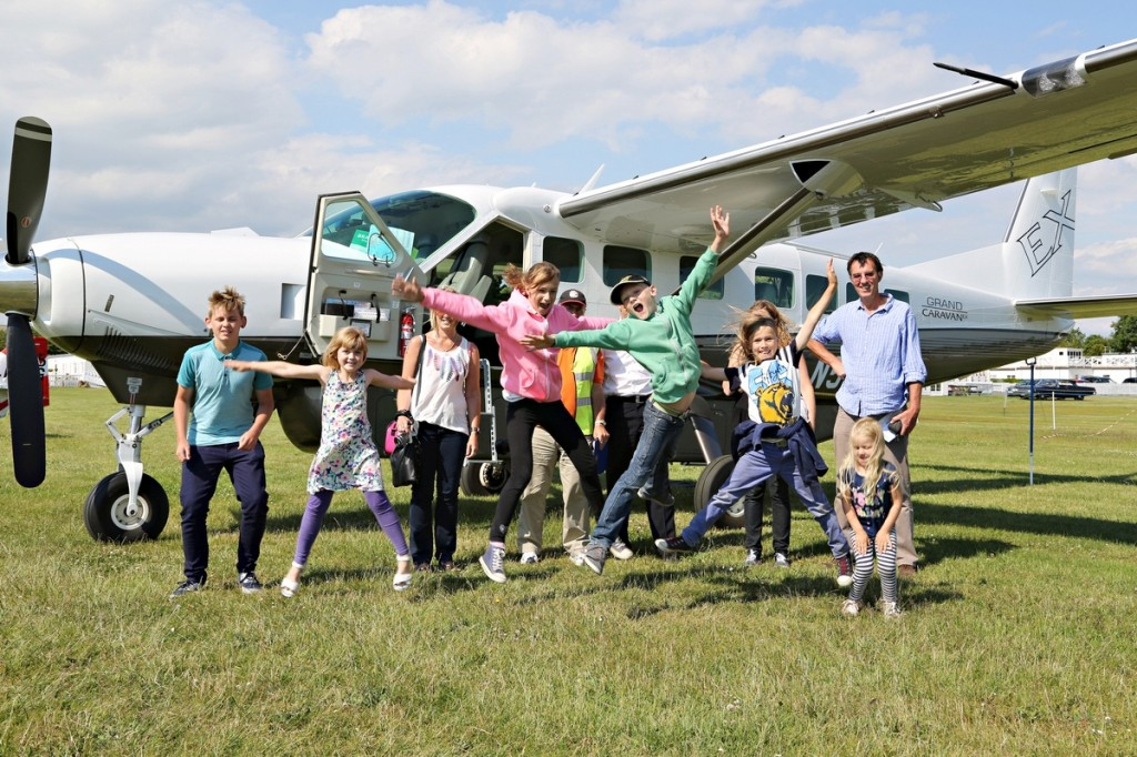 Winston's Wish and fly2help give bereaved children a day to remember