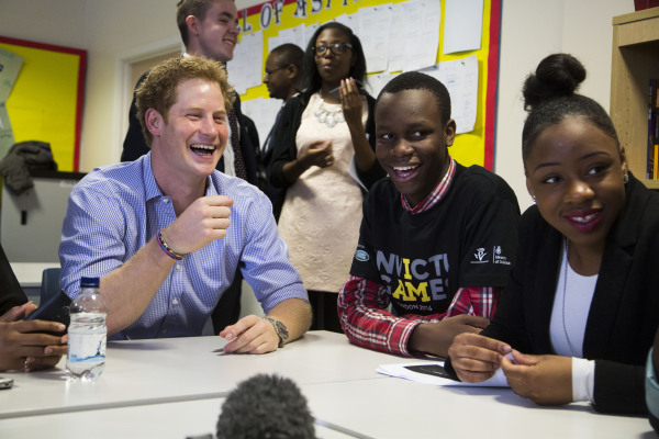 PRINCE HARRY DROPS IN ON INVICTUS GAMES DIGITAL MEDIA CHAMPIONS