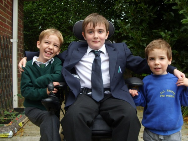 14-year-olds heartfelt letter of thanks for Powered Wheelchair that's changed his life
