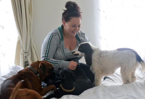 Woman Gets Her Life Back On Track Thanks To New Dog and Working Links