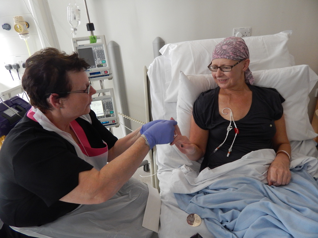 Charity Gives Hospital Patients Weekly Pampering Sessions
