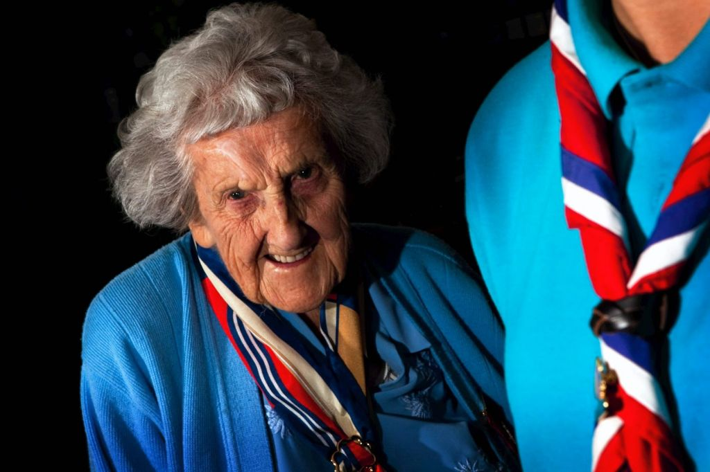 Britain's Oldest Girl Guide Volunteer Given Award