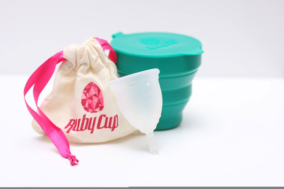 "Ruby Cup - ""All women deserve the best"""