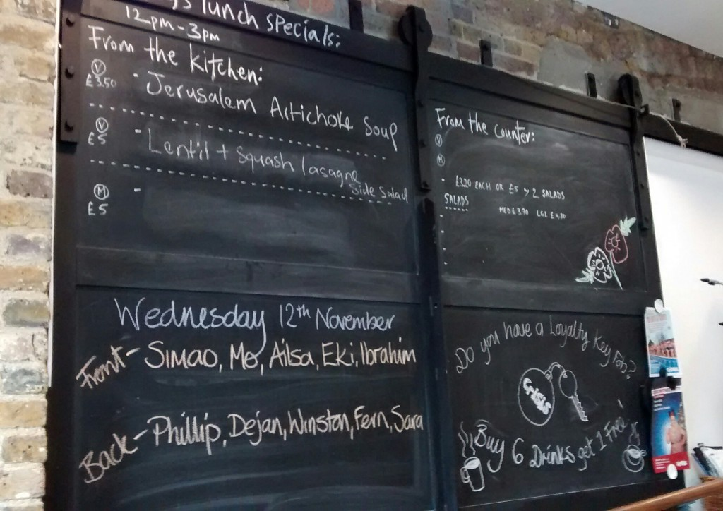 Crisis Skylight Cafe a social enterprise cafe training homeless people and young ex-offenders