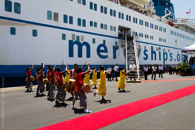 "Mercy Ships Gives Madagascar Even More To Celebrate At ""Year of the Volunteer"" Event"