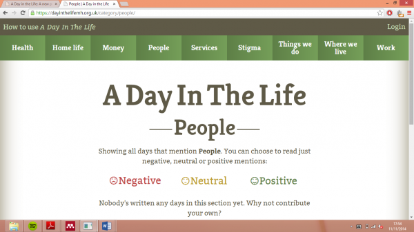 'A Day in the Life' of Someone With Mental Health Difficulties
