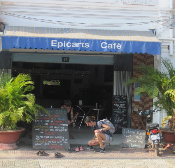 Epic Arts Café, Kampot, Cambodia