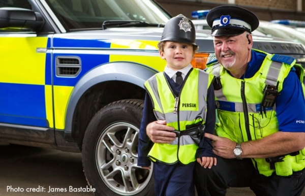 Local Policeman Gives Four Year Old Cancer Patient a Day to Remember