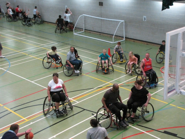 Aspire Open Day Shows the Range of Sports Available for Disabled People