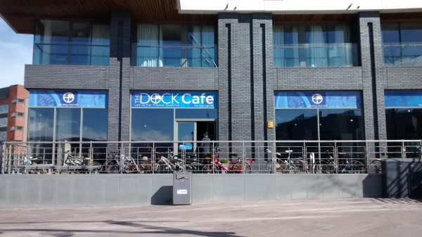 Dock Cafe, Titanic Quarter, Belfast: A Pop-Up Cafe with a Difference