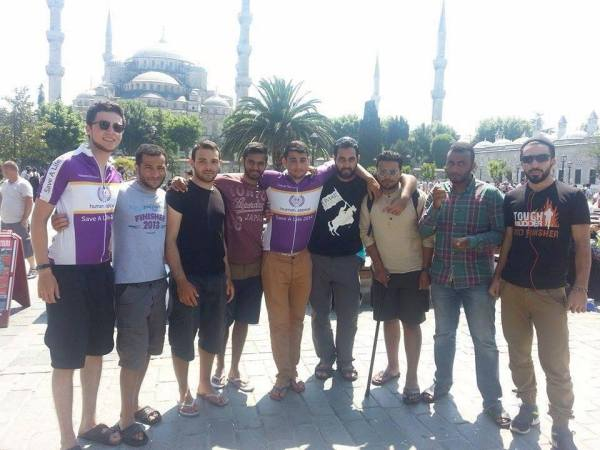 8 Muslim Students Cycle from Scotland to Syria