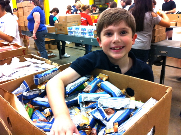 12 Year Old Boy Inspires Kids to Have Fun while Helping Others