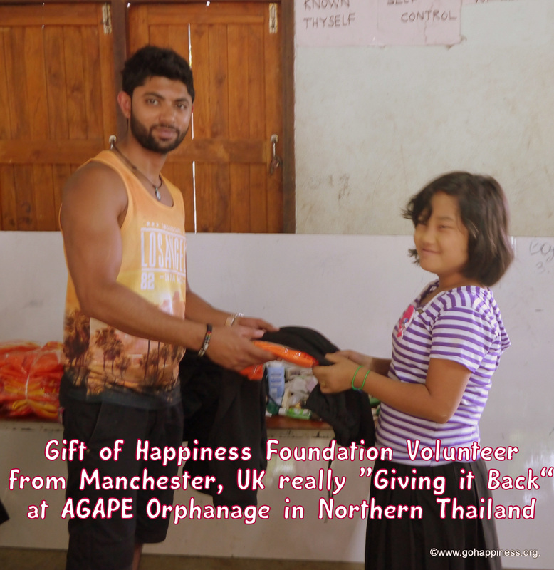Coronation Street's Qasim Akhtar Gives Gift of Happiness in Thailand
