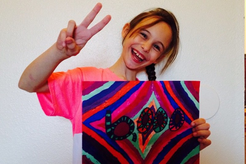 'The World Can Be Surprising' - Message from 8 year old doing Random Acts of Kindness