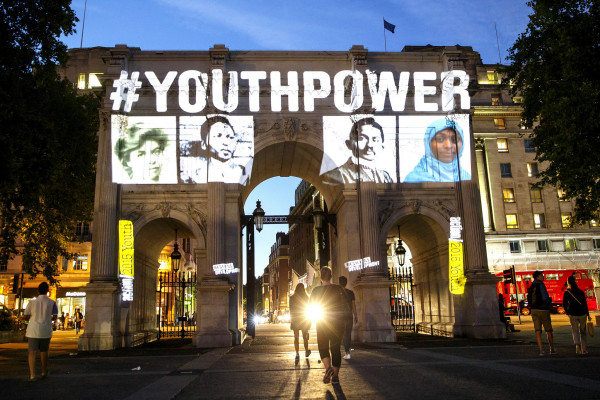 International Youth Day Photo Stunt Highlights Youth Power