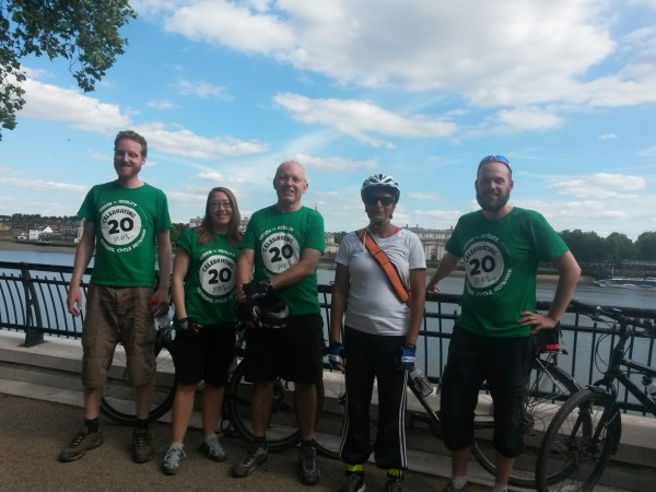 What it's like to cycle in London: Leigh Gravenor, volunteer for Sustrans