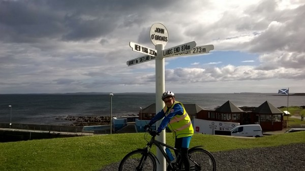 12 Year Old Boy Cycles Solo From John O'Groats to Land's End