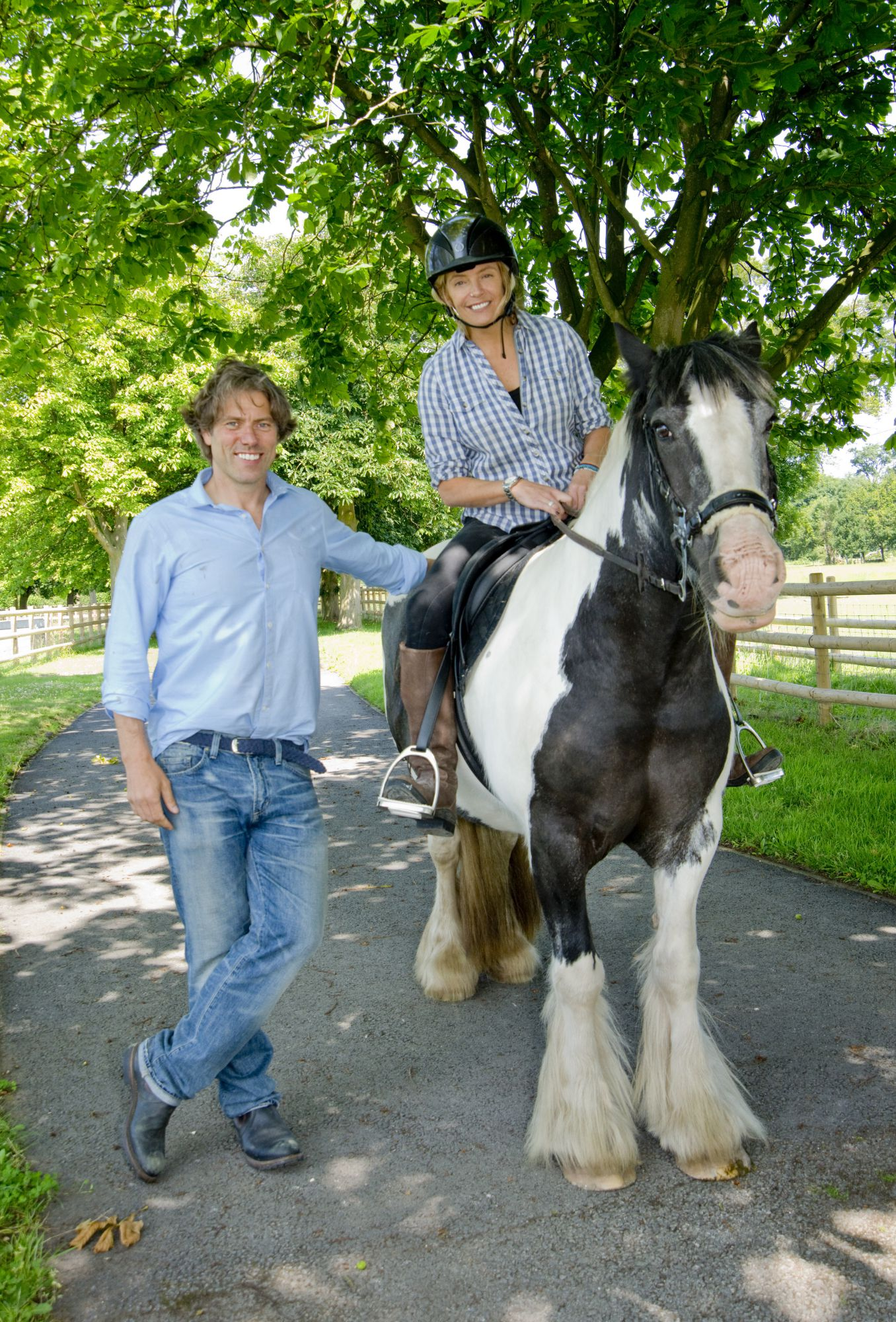 Comedian John Bishop Adopts Four Rescue Horses