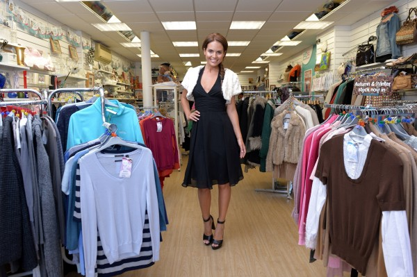Tim Vincent urges fashion lovers to pick up a bargain at charity shops