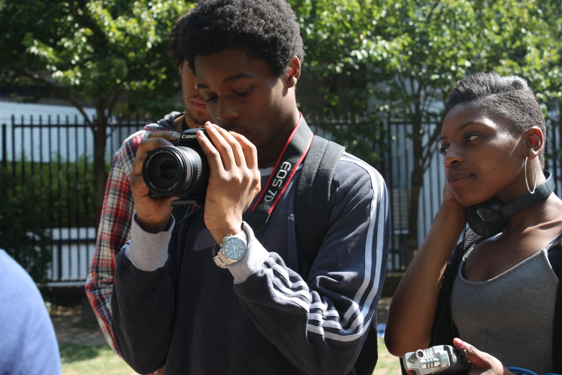 Iconic Steps Students Produce Film about Good News Shared