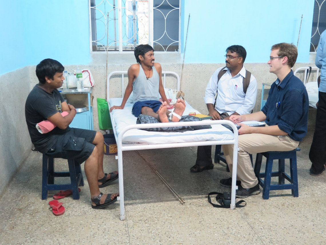 Trainee doctor's elective in India 'reaffirmed' vocation and respect for NHS