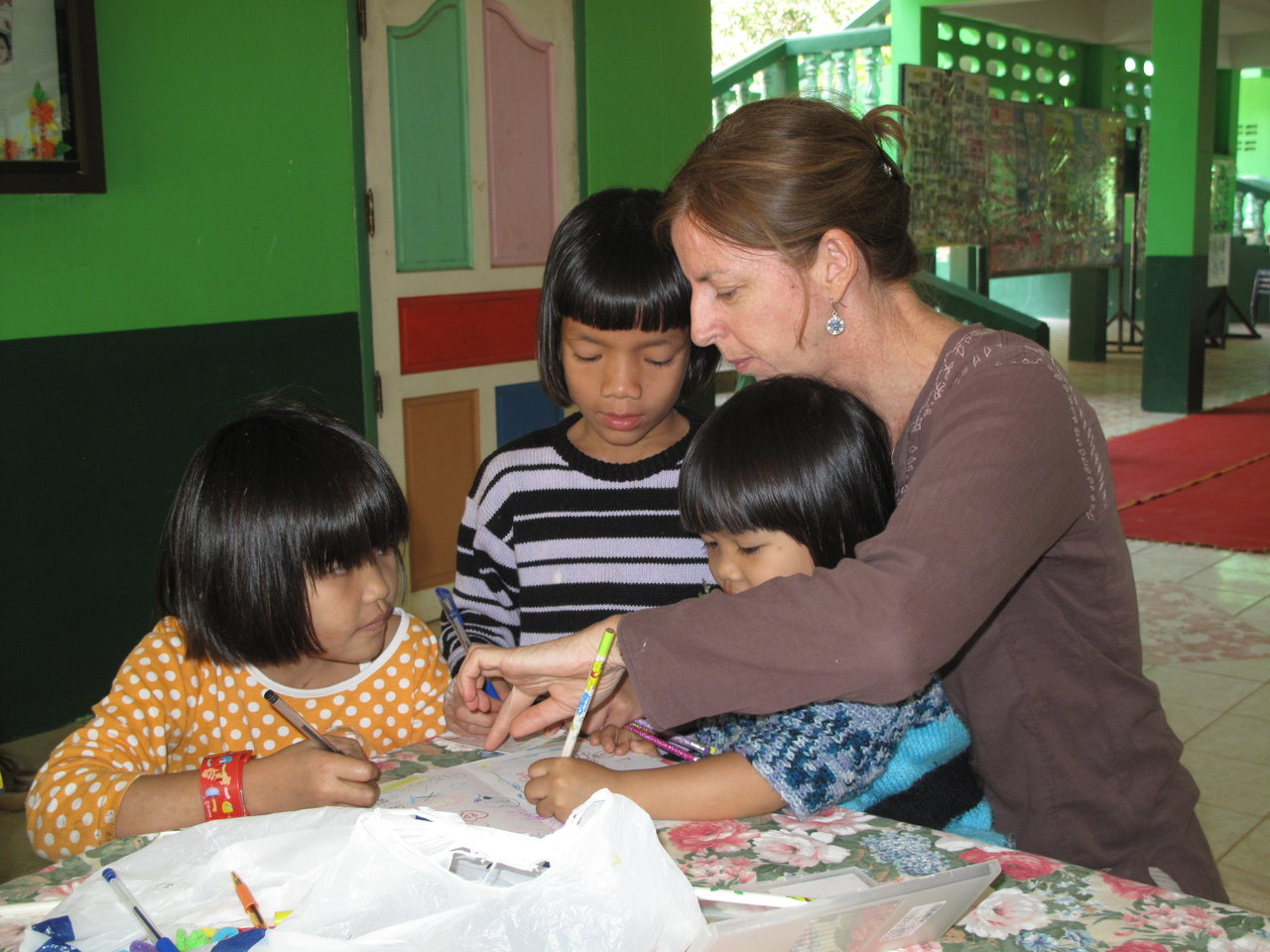 How a promise led to the start of a family for abandoned children in Thailand