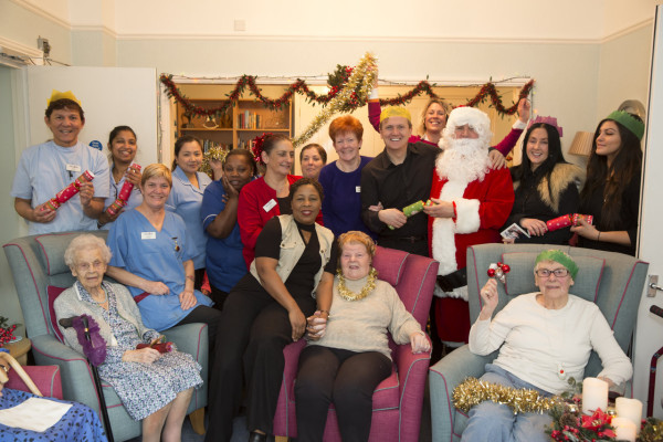 Abbeyfield Gives Cancer Patient 'Best Christmas Ever'