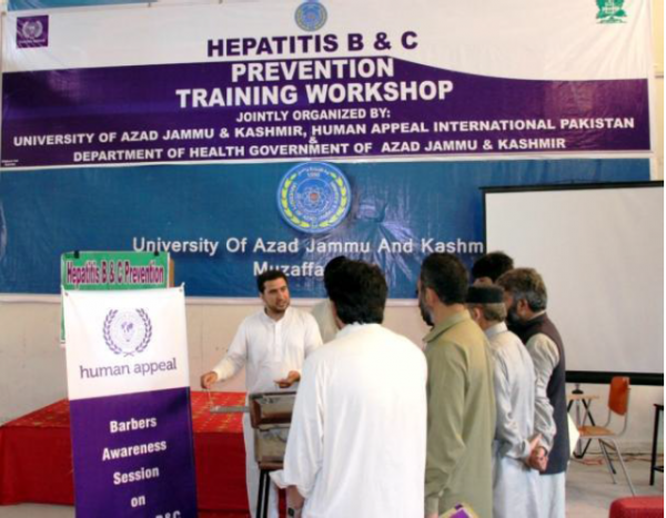 Pakistani Hairdressers Educated on HIV And Hepatitis Prevention