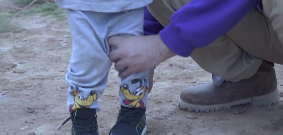Every Single Child in Refugee Camp Provided With Shoes