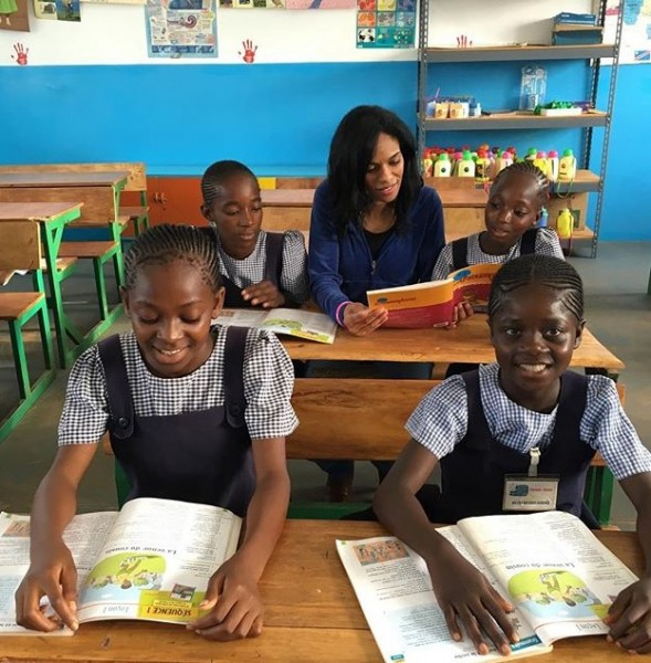 First Library Opens in Kalebuka, Democratic Republic of the Congo