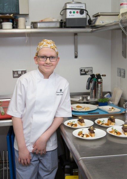 Teenage Cancer Patient Luke Becomes a Chef For The Day