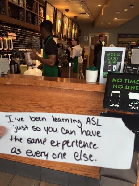 This Barista Learnt Something New to Help Customer Have 'Same Experience As Everyone Else'
