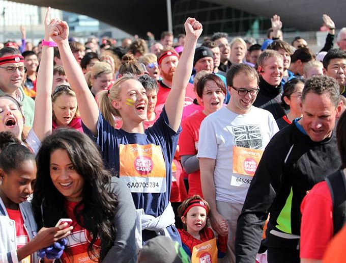 Get Active For Sport Relief!