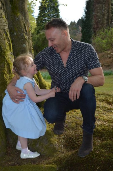 Cystic Fibrosis Toddler Tilly Has Fun with New Friend Toby Anstis
