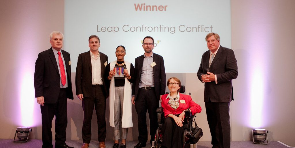 Leap Put Young People in the Driving Seat
