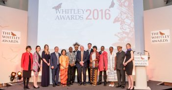 Whitley Award Recognises Inspiring People Conserving World's Most Vulnerable Creatures