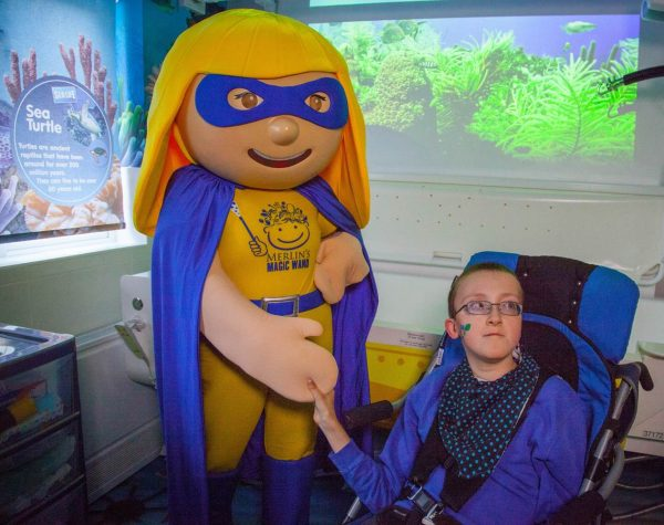 Merlin's Magic Wand Create Bespoke SEA LIFE Themed bathroom for Children's Respite Home