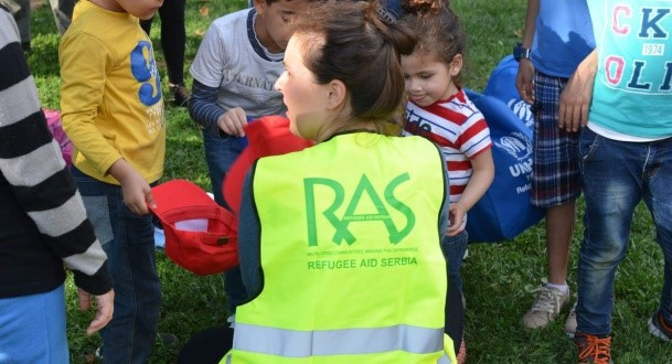 Refugee Aid Serbia Providing Critical Support to Refugees