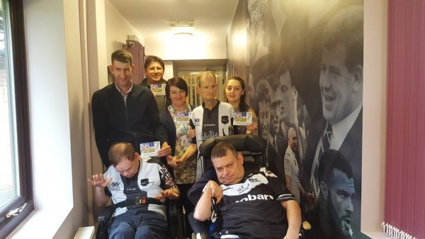 Rugby League Legend John Stankevitch Surprises Care Homes with Match Tickets