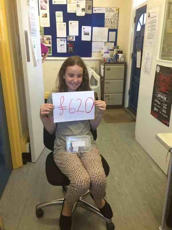 Morrissons throw surprise party for young fundraising superstar